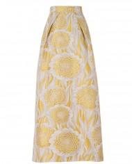 falda-jacquard-amarilla-larga-trasera-melena-de-leon-ret