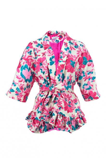 Kimono de tafetán Francisca