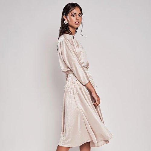 vestido de fiesta corto Hoshi